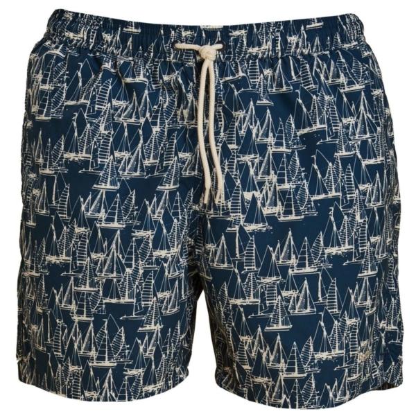 Barbour Boat Swim Shorts Navy