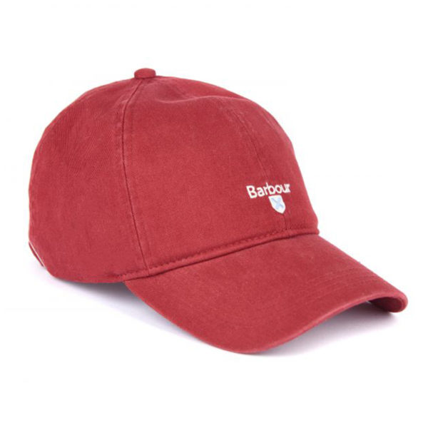 Barbour Cascade Sports Cap Lobster Red