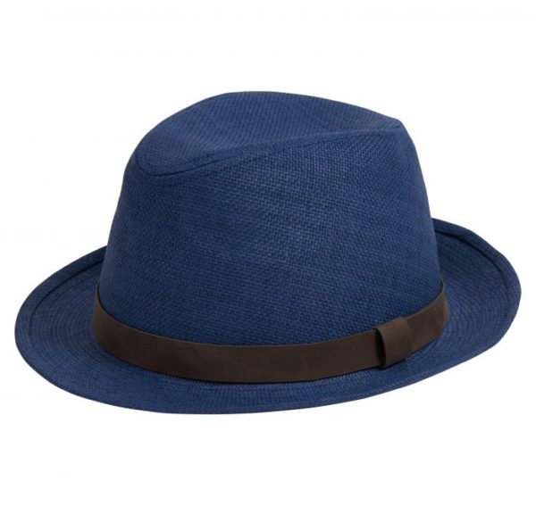 Barbour Emblem Trilby Hat Navy