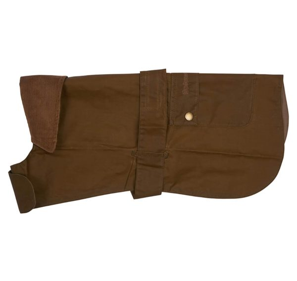 Barbour Lightweight Waxed Dog Coat Sand