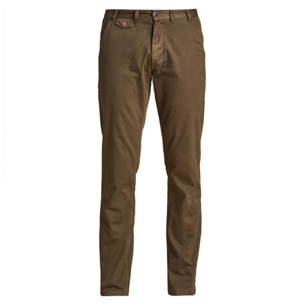 Barbour Neuston Twill Trousers Stone