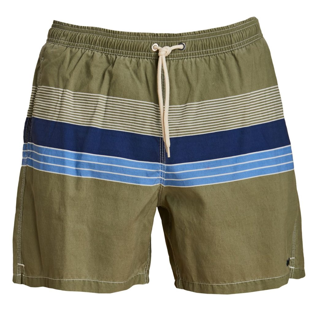 Barbour Rydal Swim Shorts Olive