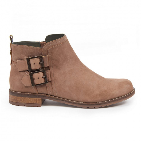 Barbour Womens Sarah Low Buckle Boot Taupe