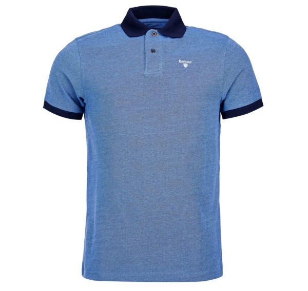 Barbour Sports Polo Mix Navy