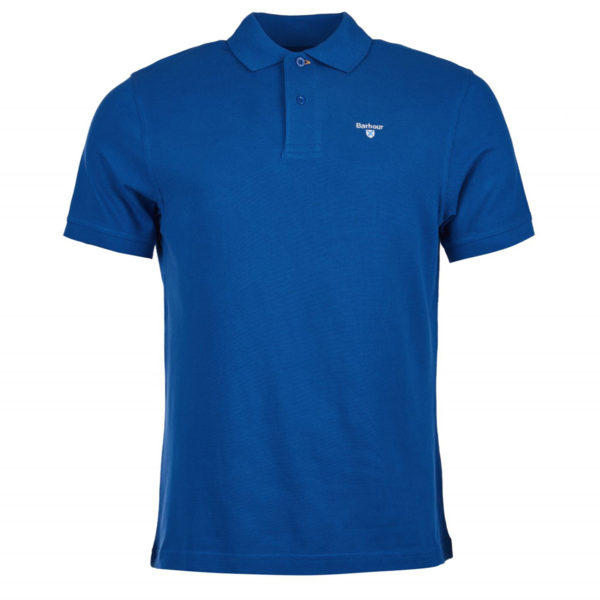 Barbour Sports Polo Atlantic Blue