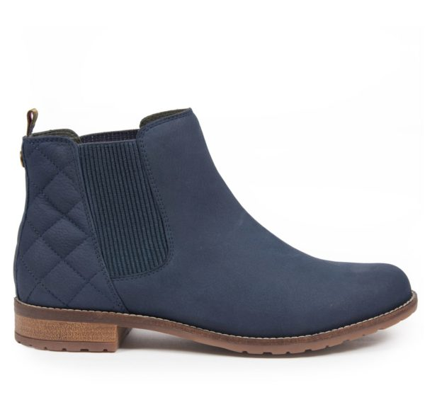 Barbour Womens Abigail Chelsea Boot Steel Blue 1