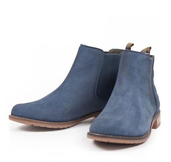 Barbour Womens Abigail Chelsea Boot Steel Blue 1