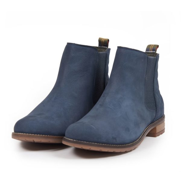 Barbour Womens Abigail Chelsea Boot Steel Blue