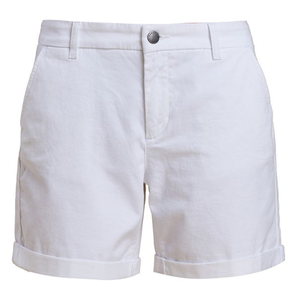 Barbour Womens Essential Shorts White