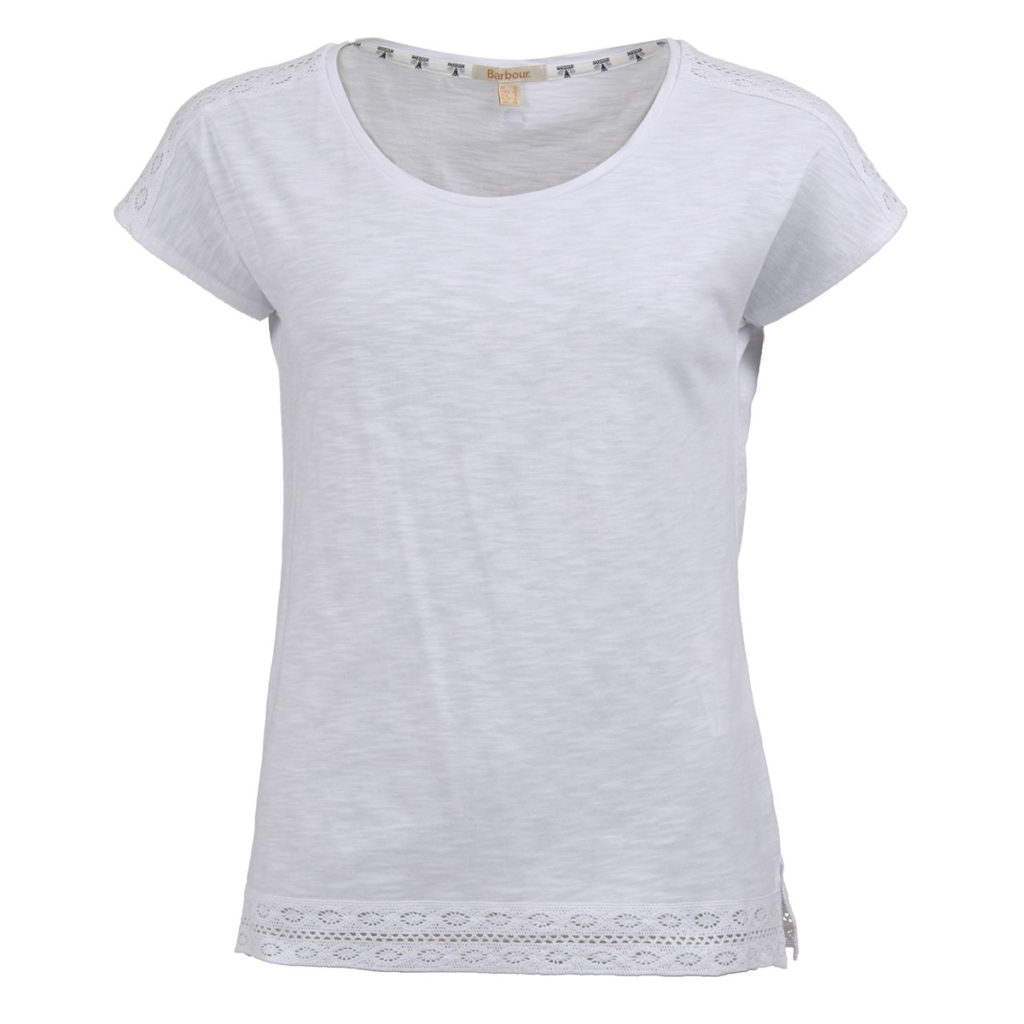 Barbour Womens Seahouse Top White