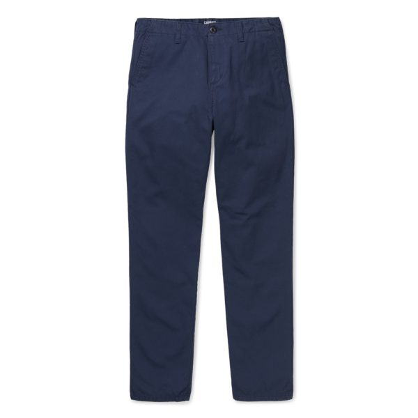 Carhartt Abbott Pant Dark Navy Stone Wash SC - I025934 (10664) - 1 copy