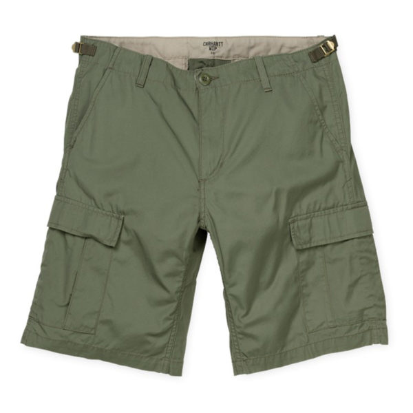 Carhartt Aviation Shorts 100% Cotton Dollar Green Rinsed