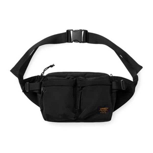 Carhartt Military Hip Bag Twill Black / Black