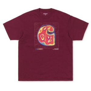 Carhartt Heatmap T-Shirt Cranberry