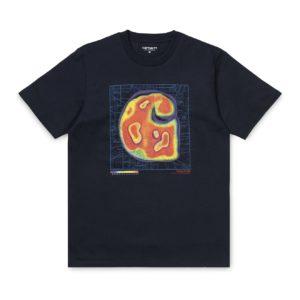 Carhartt Heatmap T-Shirt Dark Navy
