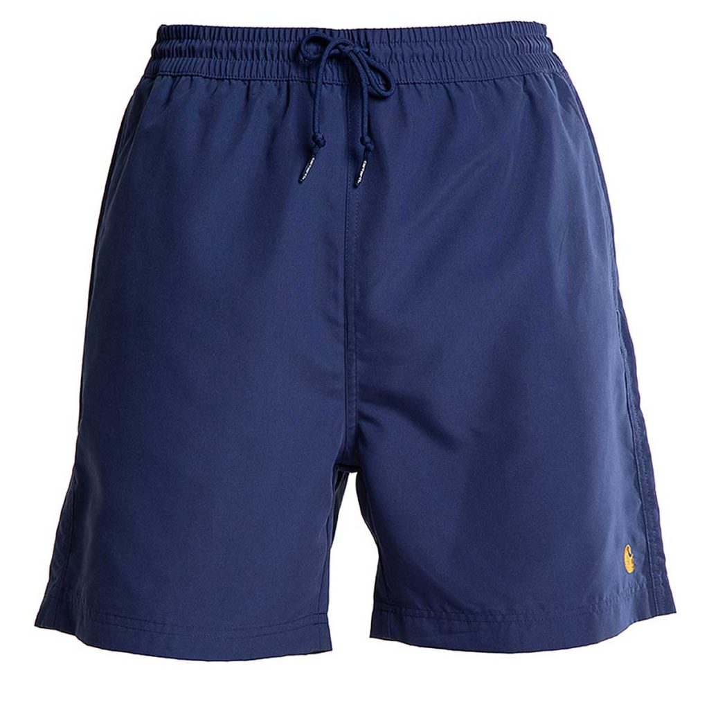 Chase Swim Trunks 100% Polyester Metro Blue / Gold