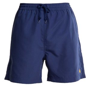 Chase Swim Trunks 100% Polyester Metro Blue / Gold