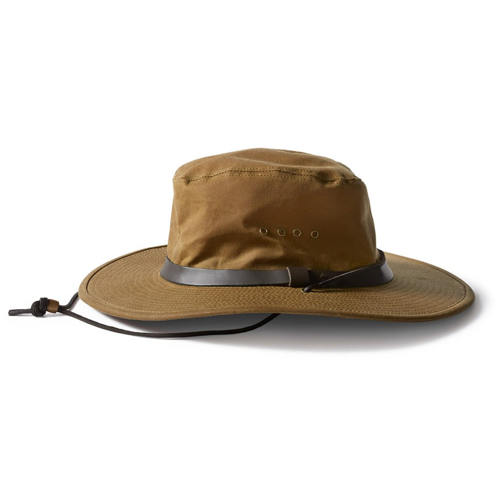 Filson Tin Bush Hat Tan