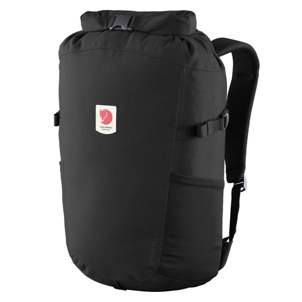 Fjallraven Ulvo Rolltop 23 Backpack Black