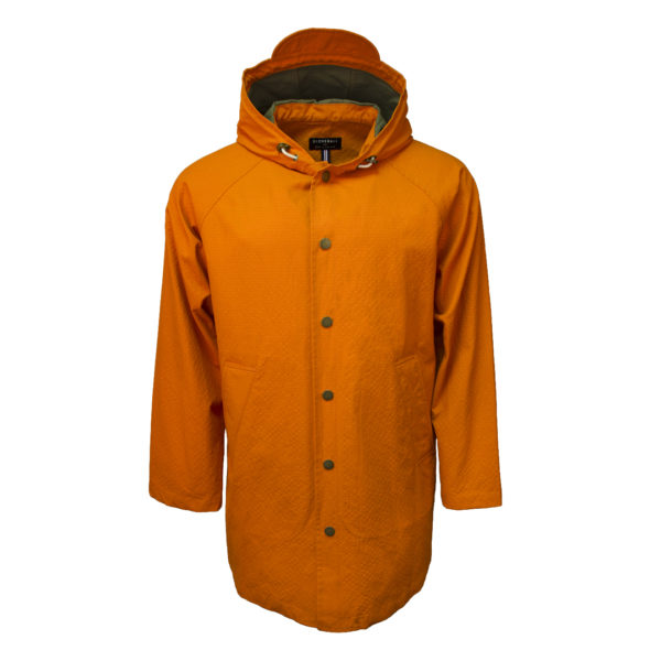 Gloverall Billie Parka Jacket Orange