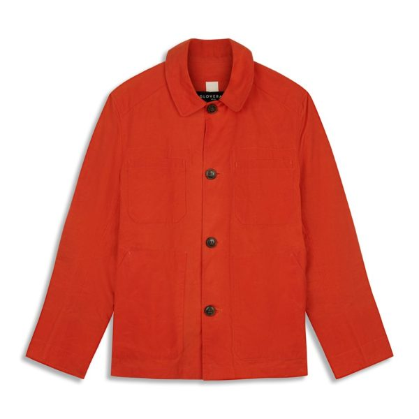 Gloverall Jack Jacket Orange