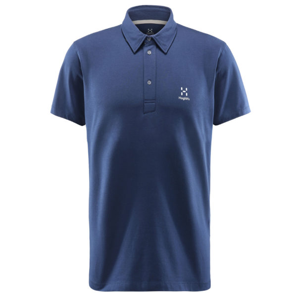 Haglofs Mirth Polo Tarn Blue