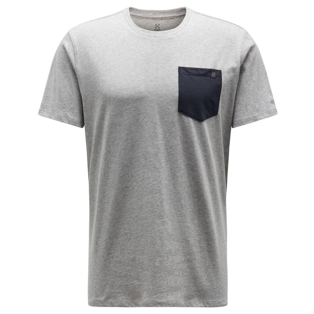 Haglofs Mirth T-Shirt Grey Melange / Slate