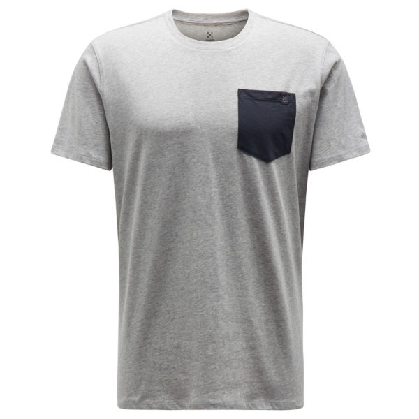 Haglofs Mirth T-Shirt Grey Melange / Slate