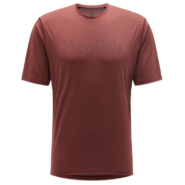 Haglofs Ridge T-Shirt Maroon Red