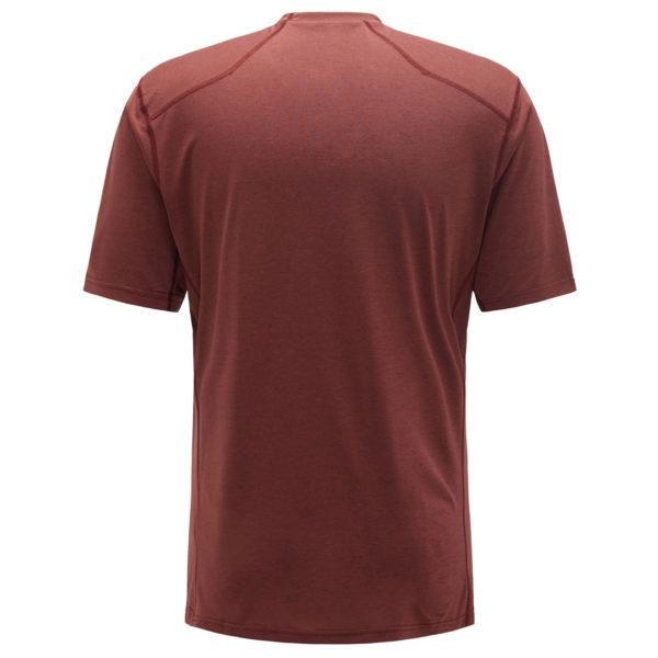 Haglofs Ridge T-Shirt Maroon Red