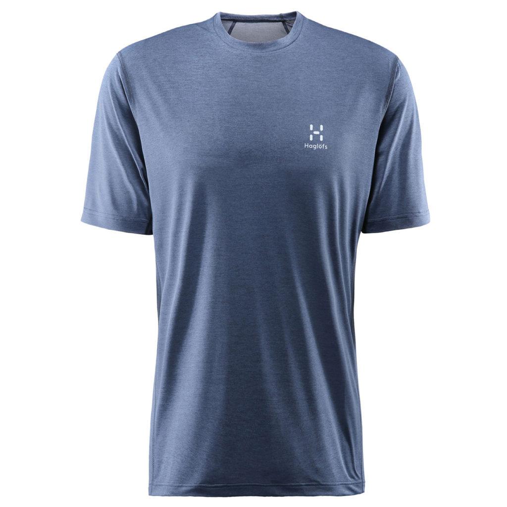 Haglofs Ridge T-Shirt Tarn Blue