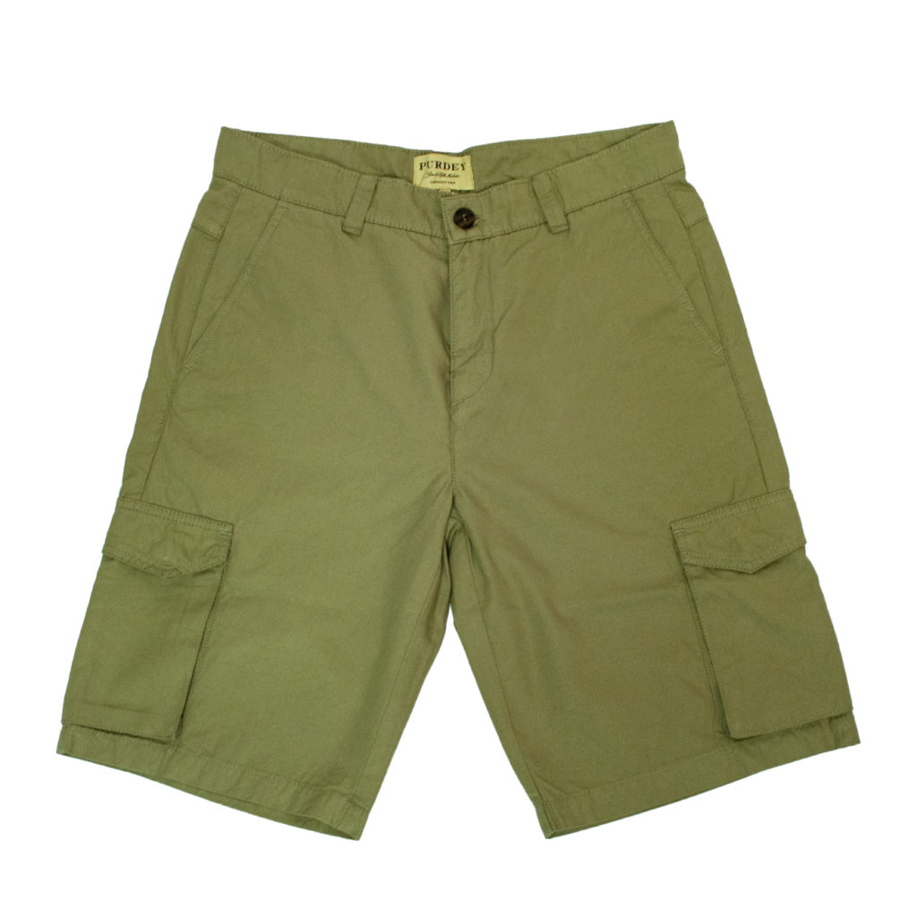 James Purdey Cargo Shorts Aloe
