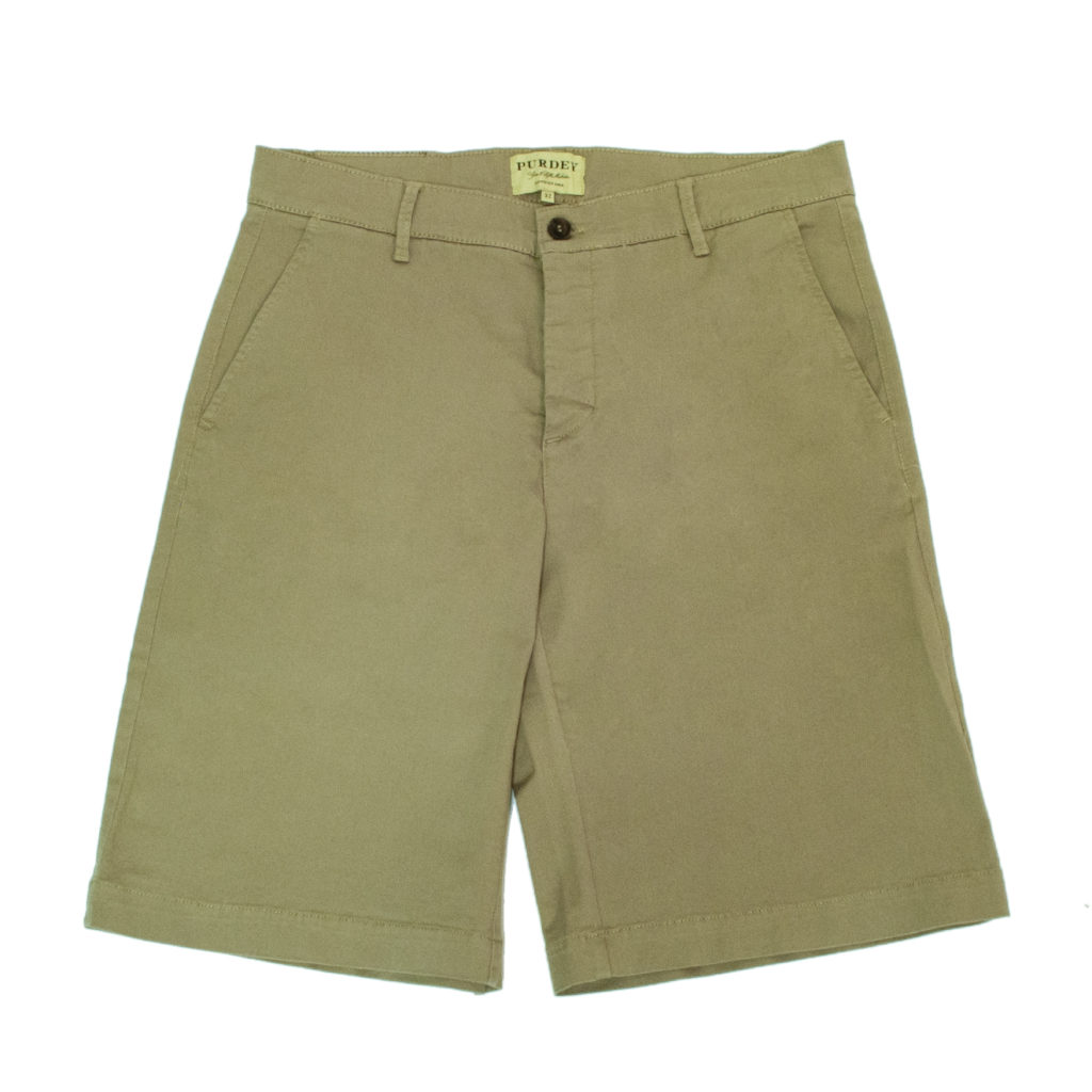 James Purdey Mens Chino Short Desert