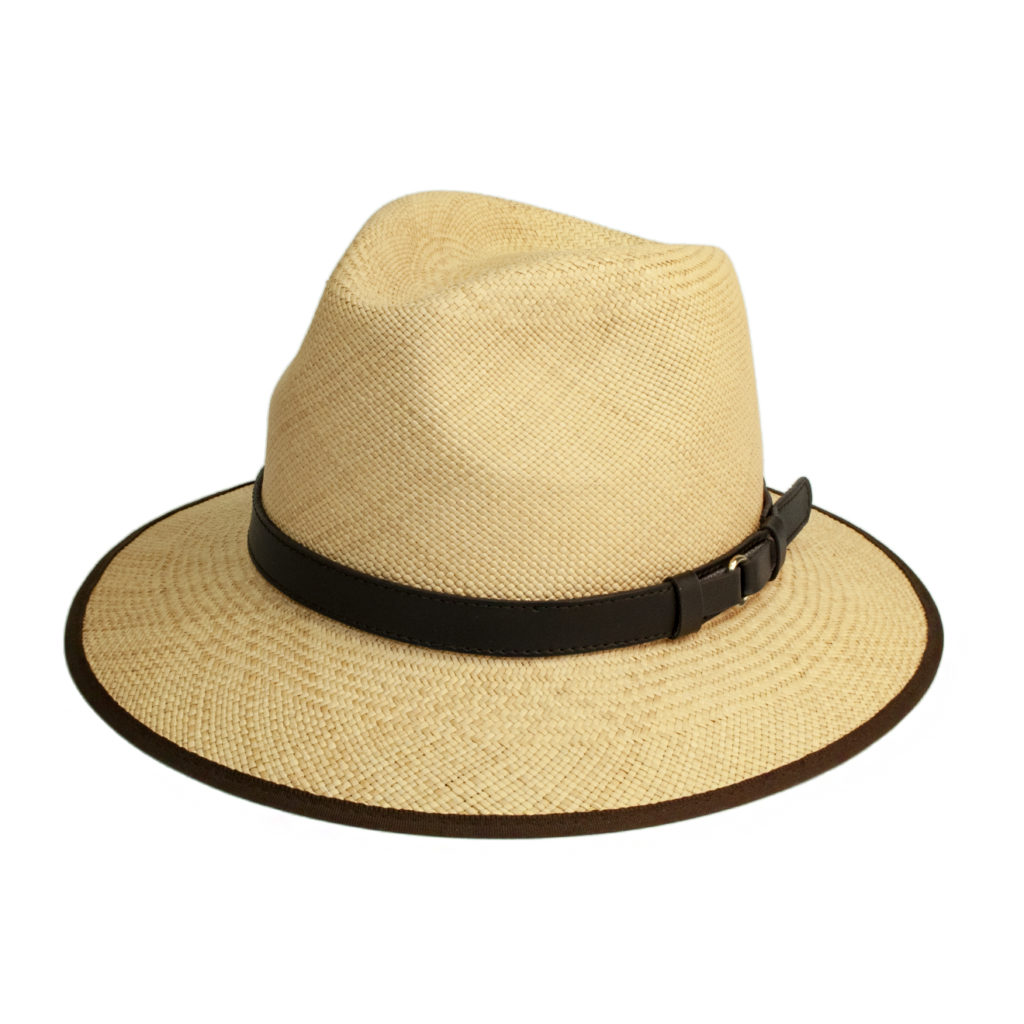 James Purdey Panama Hat Natural