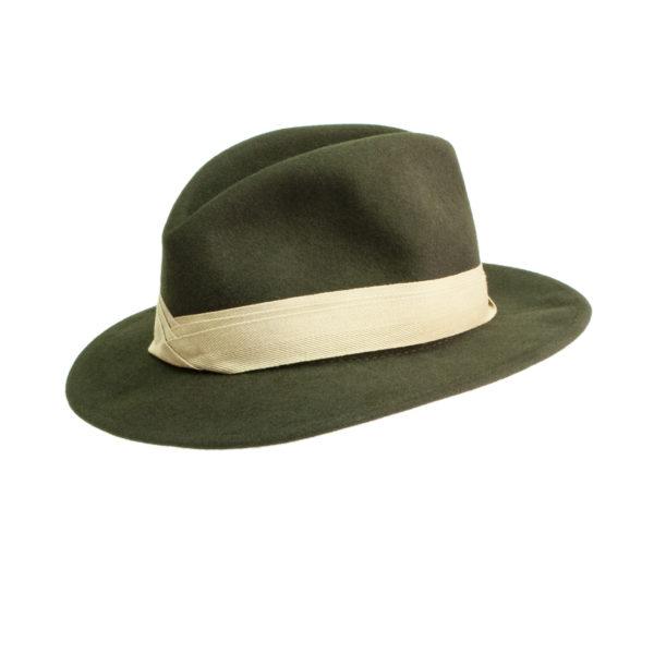 James Purdey Traveller Hat Khaki Green