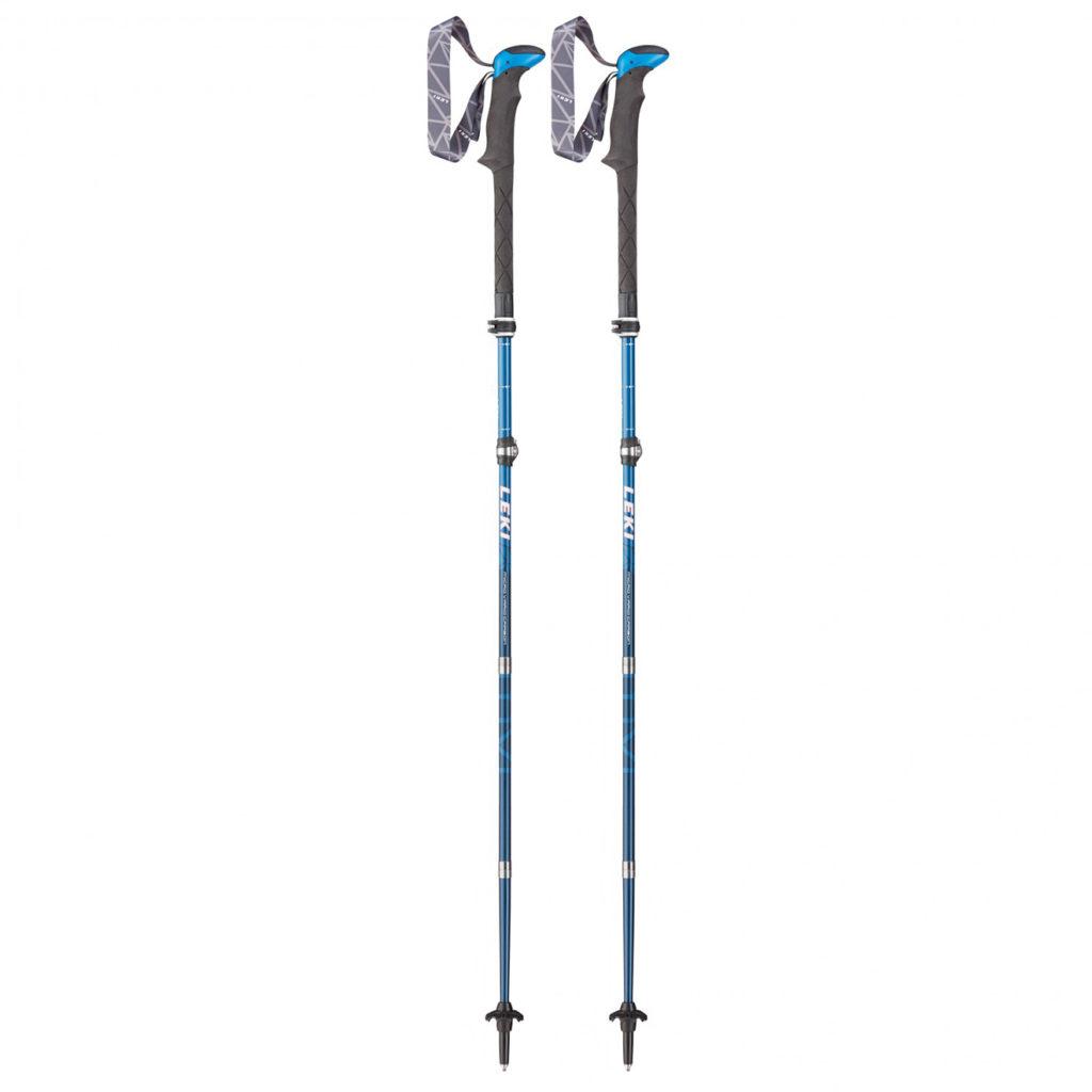 Leki Poles Micro Vario Carbon MVC Blue