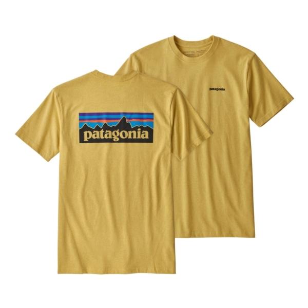 Patagonia P-6 Logo Responsibili-Tee Surfboard Yellow