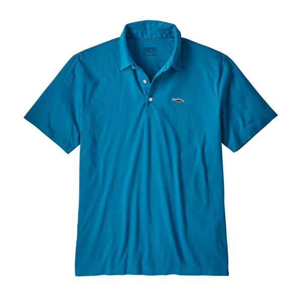 Patagonia Polo Trout Fitz Roy Balkan Blue