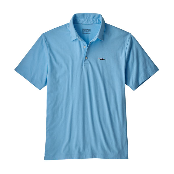 Patagonia Polo Trout Fitz Roy Break up Blue