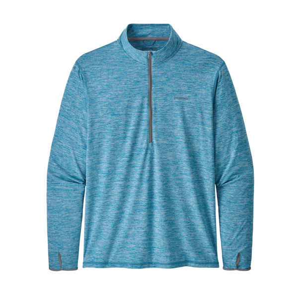Patagonia Tropic Comfort 1/4-Zip Mako Blue