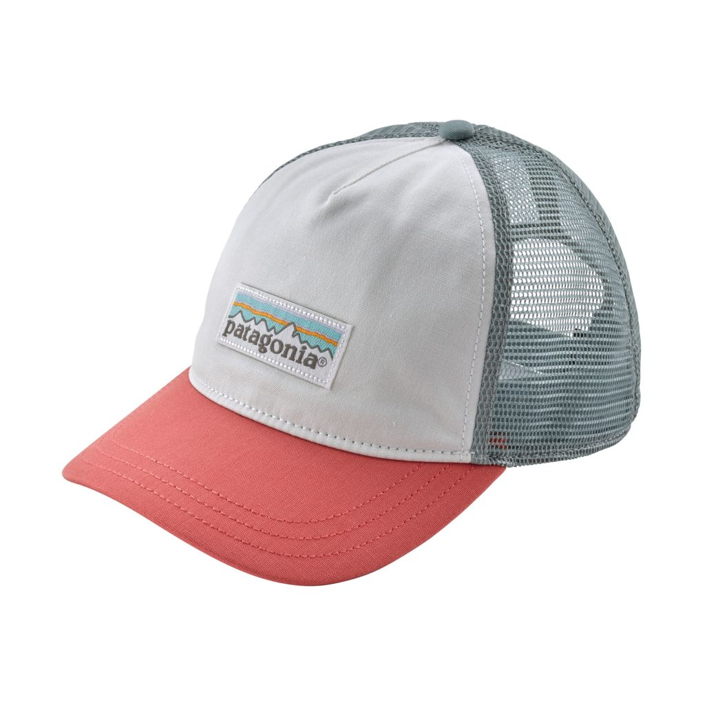 Patagonia Womens P-6 Label Layback Trucker Hat Spiced Coral