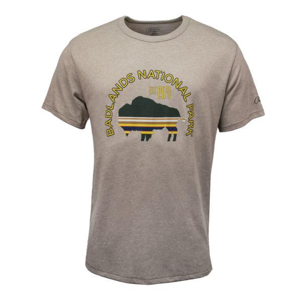 Pendleton Badlands Park T-Shirt Vintage Stone