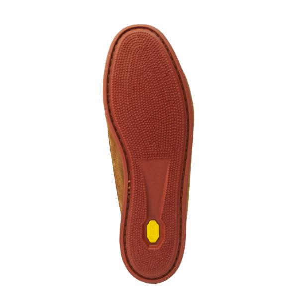 Quoddy Blucher Shoe Toast Suede / Brick Sole