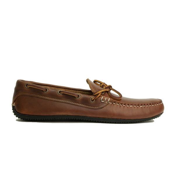 Quoddy Camp Driver Shoe Whiskey