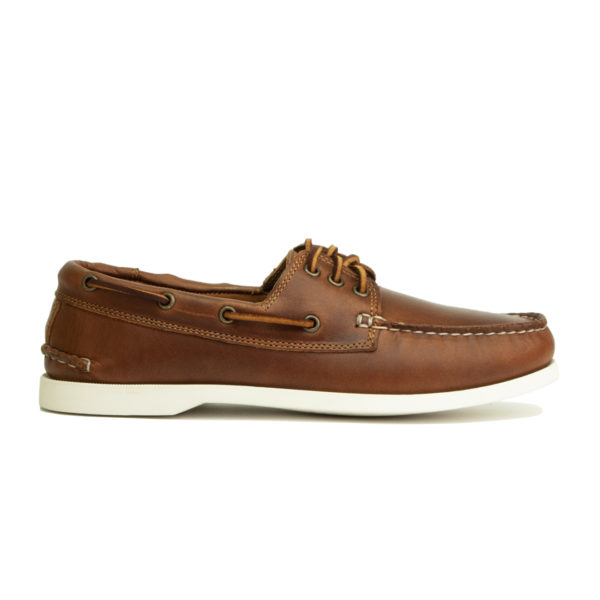 Quoddy Downeast Boat Shoe Whiskey