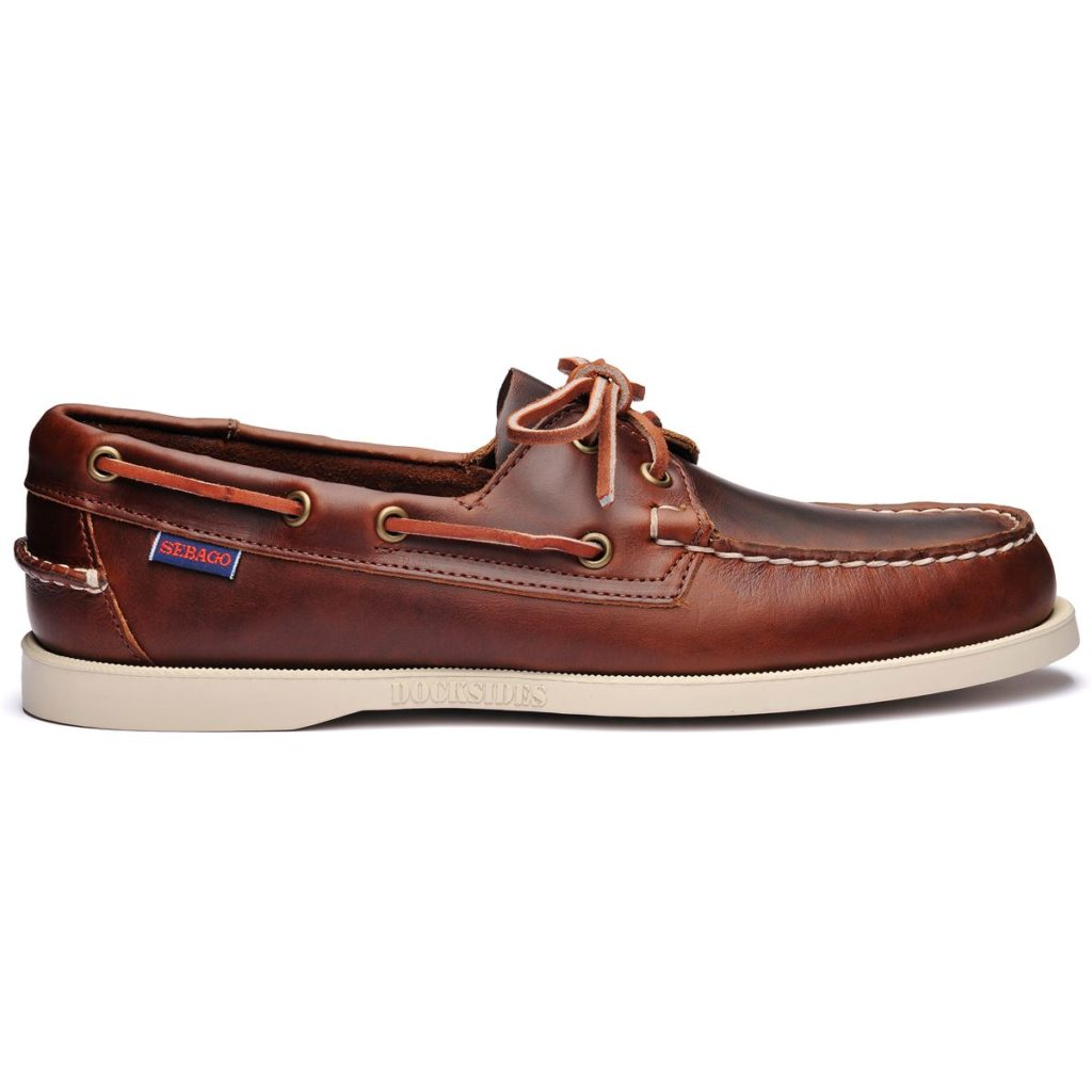 Sebago Docksides FGL Oiled Waxy Brown