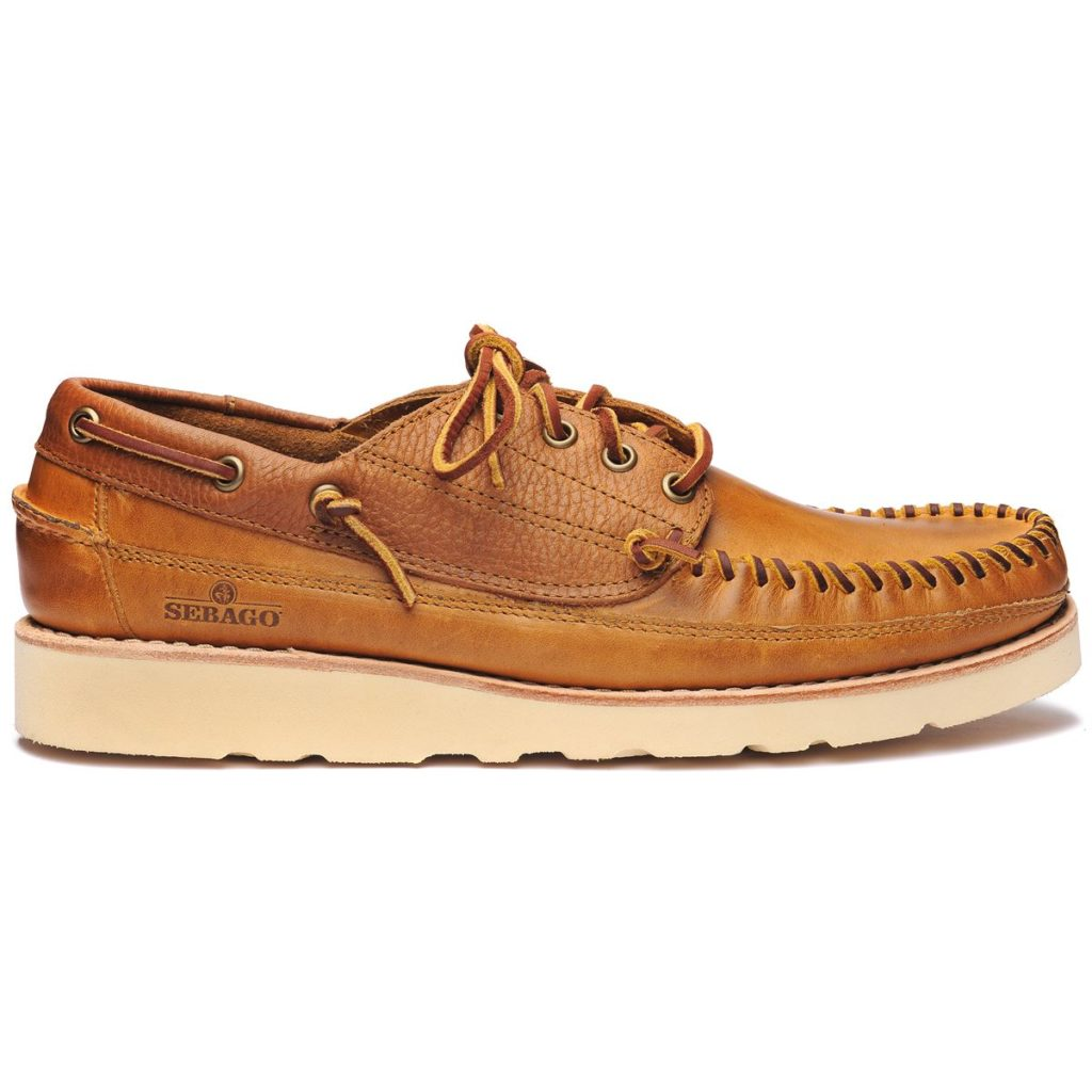 Sebago Seneca Brown and Tan