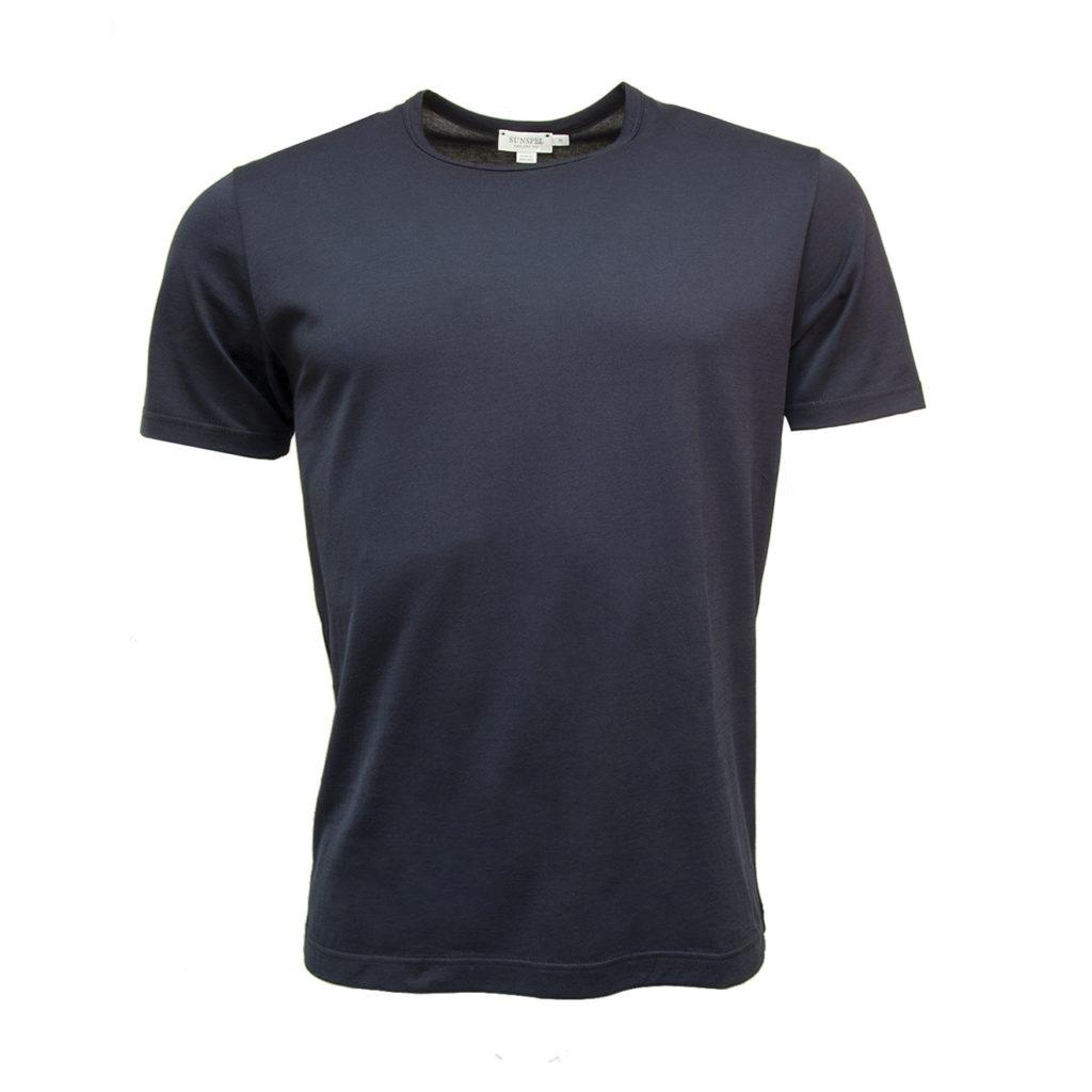 Sunspel Classic Crew T-Shirt Navy