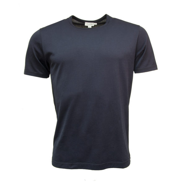 Sunspel Classic Crew T-Shirt Navy