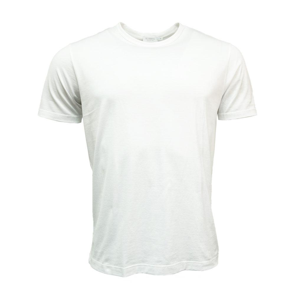 Sunspel Classic Crew T-Shirt White